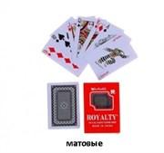 карты пластиковые в футляре 54 шт матовые 12 шт/блок цена за 1 шт акция скидка 70%(10000)