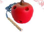 Яблоко-шнуровка ДШ-069  8х6см
