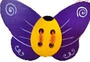 Бабочка шнуровка ДШ- 076  10х16см