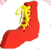 Башмак - шнуровка крашенный ДШ-004 14х10х1,5см