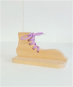 Башмак - шнуровка на подставке ДШ-005  14х10х1,5см