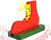 Башмак - шнуровка на подставке крашен.ДШ-006 14х10х1,5см