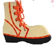 Башмак - шнуровка расписной ДШ-007 14х10х1,5см