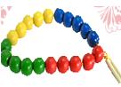 Бусы шары цветные(20 шт.)ДИ-005 диаметр 3,5см