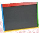 Доска магнитно-грифельная 45*61 цветная ДИ-015