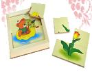 Картинки  разрезные  «Весна»ДИ-007  16х16 см