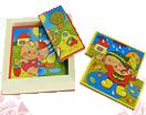 Картинки разрезные «Времена года для малышей» ДИ-008  16х16 см