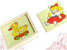 Картинки разрезные «Игрушки» ДИ-046  16х16 см