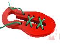 Кед - шнуровка крашенный ДШ-021  20х7,5 см