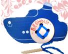 Кораблик  «Верный» шнуровка ДШ-079 9,5х15 см