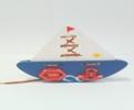 Кораблик-шнуровка расписной ДШ-028 15,5х15 см