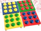 Мозаика детская цветная 4 поля ДИ-065 15х15 см