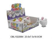 животные заводные кролик 12 шт/коробка(116940)