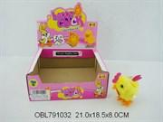 животные заводные петух 12 шт/коробка(115601)
