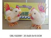 животные заводные петух 12 шт/коробка(116944)