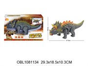 животные на батарейках динозавр со светом и музыкой(122165)