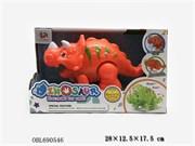 животные на батарейках динозавр со светом и музыкой 2 цвета(122132)