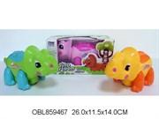 животные на батарейках динозавр со светом и музыкой 3 цвета(115227)