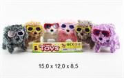 животные на батарейках собака 6 цветов(115061)