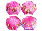 зонтик 45 см 4 вида со свистком(113717)