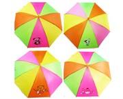 зонтик 45 см 6 видов со свистком(113713)