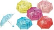зонтик 45 см 7 видов со свистком(118252)