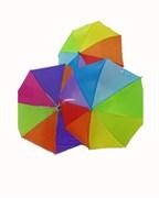 зонтик 50 см 3 цвета со свистком(113711)