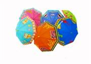 зонтик 50 см 8 видов со свистком(113699)