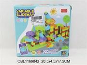 конструктор лабиринт с шариками 192 дет.(125462)
