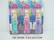кукла на батарейках русалка плавает 3 цвета акция скидка 55%(103951)