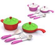 """НордПласт: Набор посуды """"Кухонный сервиз """"Волшебная Хозяюшка"""" (7 предметов в пакете)(9721)"""