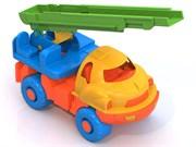 """НордПласт: Пожарная машина """"Малыш"""" нью 100x95x185 мм(9456)"""