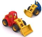 "НордПласт: Трактор ""Ангара"" с грейдером(9703)"