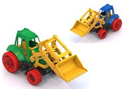 НордПласт: Трактор с ковшом(9480)