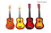 гитара деревянная 4 цвета(126588)