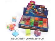 головоломка лабиринт с шариками 24 шт/коробка(126253)