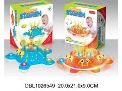 животные морская звезда со светом и музыкой 3 цвета(126437)