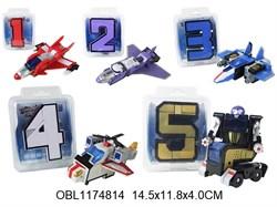 трансформер цифры 1, 2, 3, 4, 5(126809)
