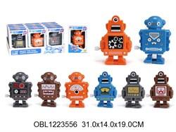 робот заводной 12 шт/коробка(127895)