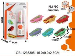 насекомые нано жук вибрационный 4 цвета(129978)