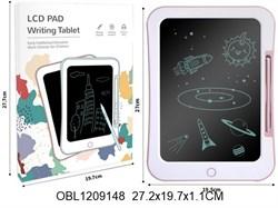 планшет на батарейках для рисования одноцветный(129789)