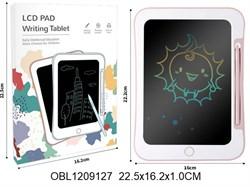 планшет на батарейках для рисования цветной(129784)