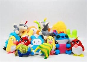 Мягкие игрушки для автоматов в ассортименте (250 шт)